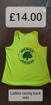 Burnham Joggers Ladies Racing Vest