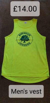 Burnham Joggers Mens Vest