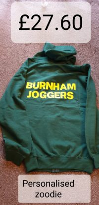 Burnham Joggers Personalised Zoodie
